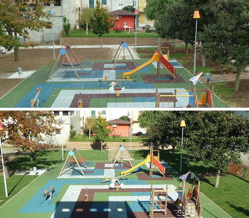 verde-pubblico parco giochi