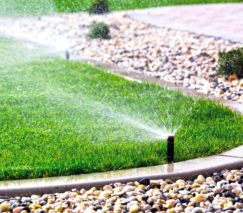 irrigatore giardino